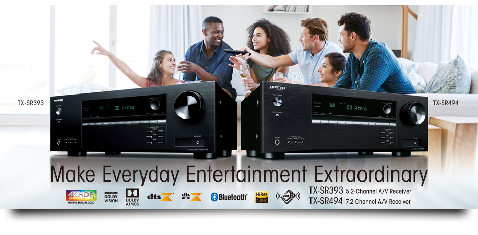 Onkyo Launches Value-Packed AVRs with Dolby Atmos® and DTS:X
