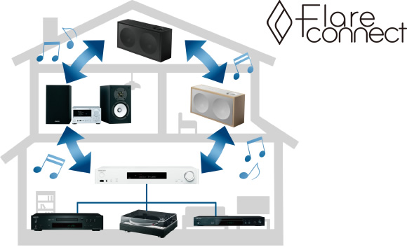 Supports FireConnect* Multi-room Audio Image