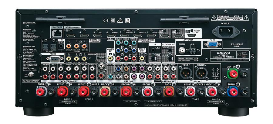 TX-NR3030   ONKYO Asia and Oceania Website