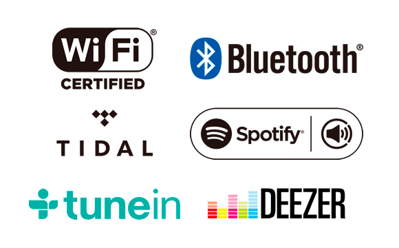 Bluetooth Audio / Wi-Fi with Spotify and Tidal Image