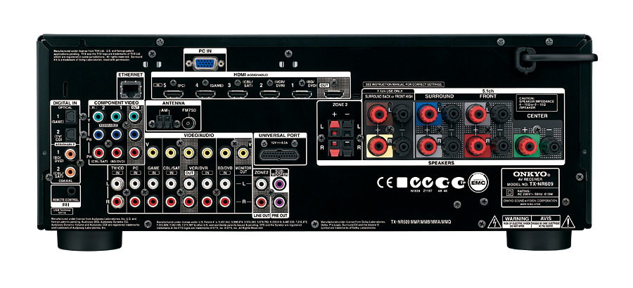 Tx Nr609 Onkyo Asia And Oceania Website