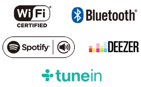 Bluetooth Audio / Wi-Fi with Spotify and AirPlay Image