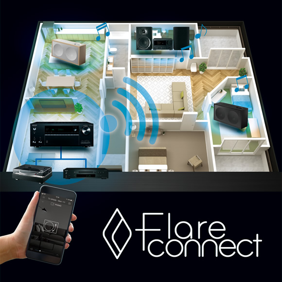 FlareConnect technology expands enjoyment of music Image
