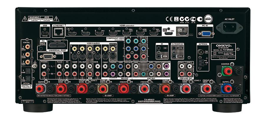 tx nr809 onkyo asia and oceania website rh intl onkyo com Onkyo 809 Select 2 Plus Onkyo 809 Zone 2 Setup