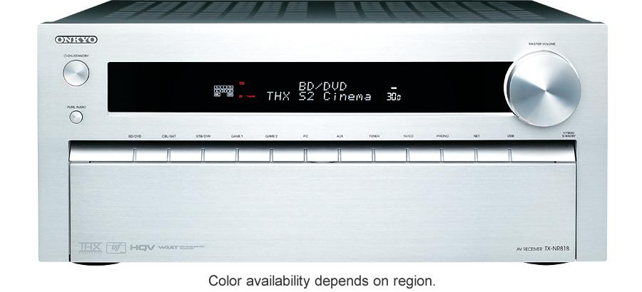 TX-NR818   ONKYO Asia and Oceania Website