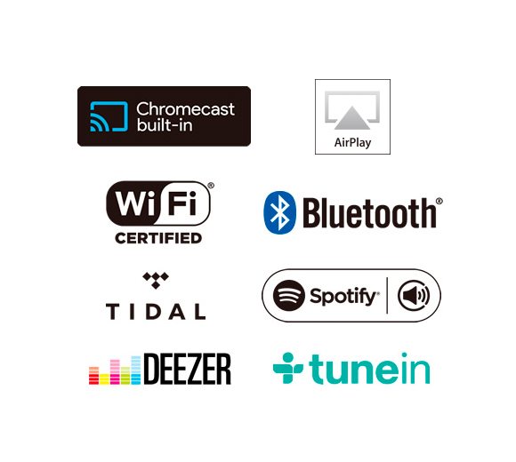 Go Wireless with Google Cast, AirPlay, Wi-Fi, and Bluetooth Image