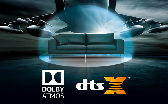 Unleash Dolby Atmos or DTS:X Home Theater Image