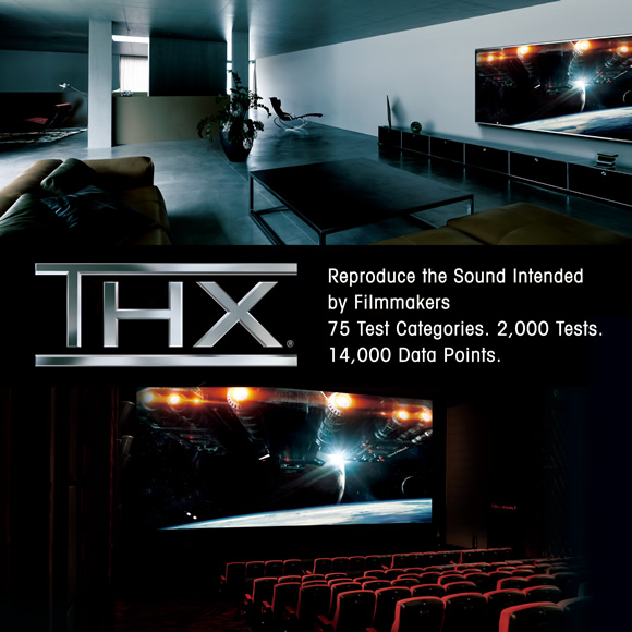 Best-in-class movie realism with THX Certified Select Image