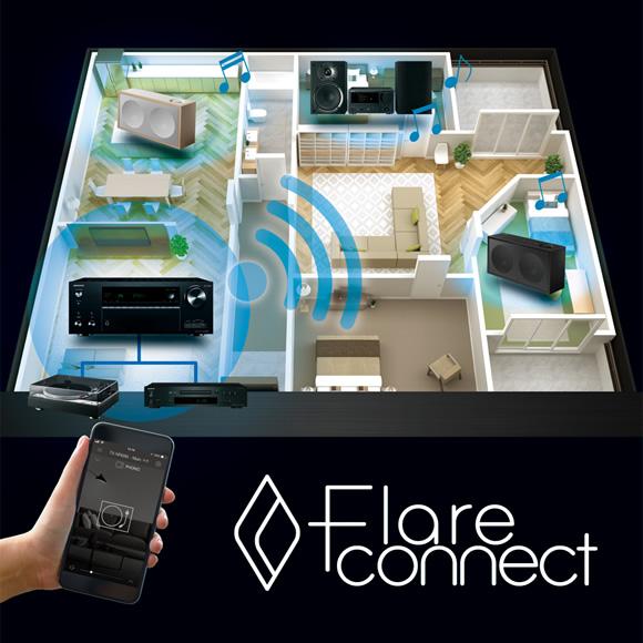 FlareConnect technology expands enjoyment of music Image