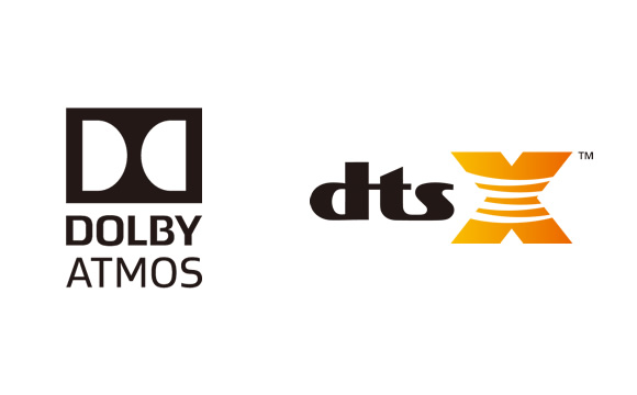 DTS:X and Dolby Atmos Support Image