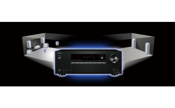 Multi-room audio with Powered Zone 2 outputs Image
