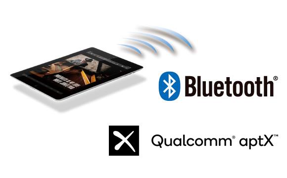 Bluetooth wireless technology and Qualcomm aptX audio Image
