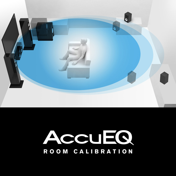 AccuEQ Room Acoustic Calibration with AccuReflex Image