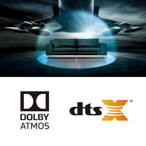 Dolby Atmos and DTS:X sound is here Image