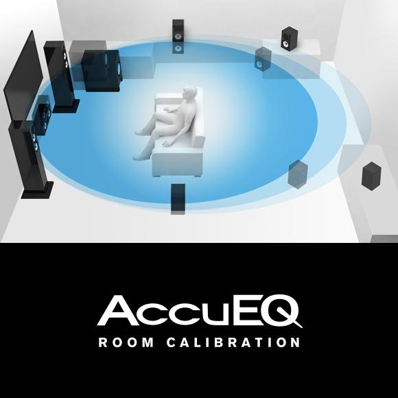AccuEQ Room Acoustic Calibration with AccuReflex Image