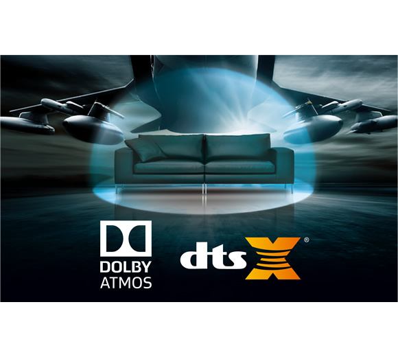 Get the Complete DTS:X and Dolby Atmos Experience Image