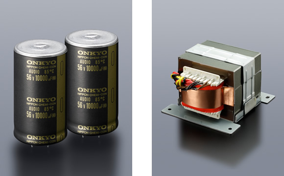 Customized High-Current Transformer and Custom Audio-Grade Capacitors Image