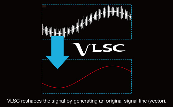 VLSC Removes Digital Pulse Noise Image