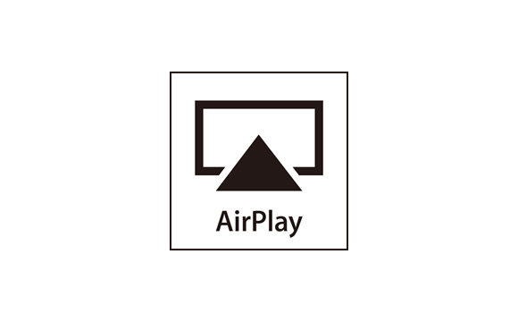 Stream Audio with AirPlay Image