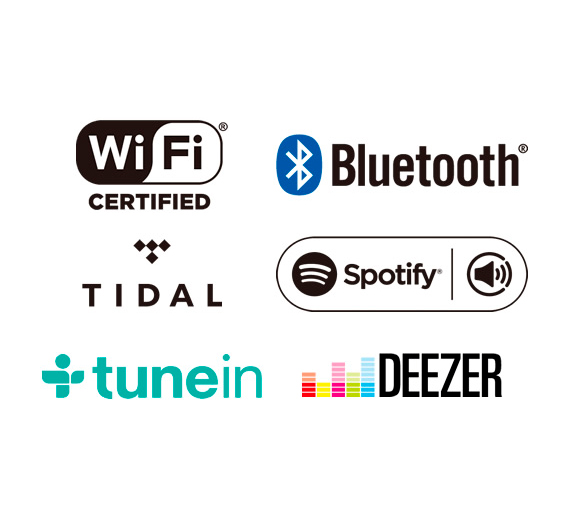 Bluetooth Audio / Wi-Fi with Spotify and TIDAL* Image