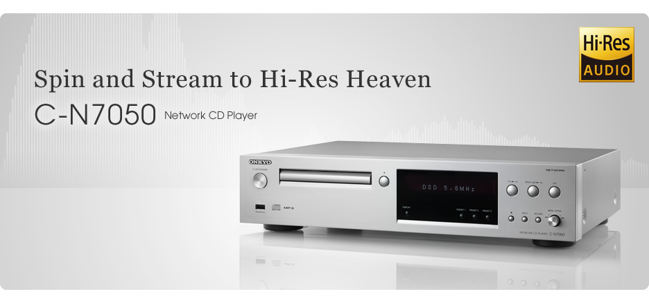 Onkyo Network Cd Player Adds Hi Res Audio Streaming 32