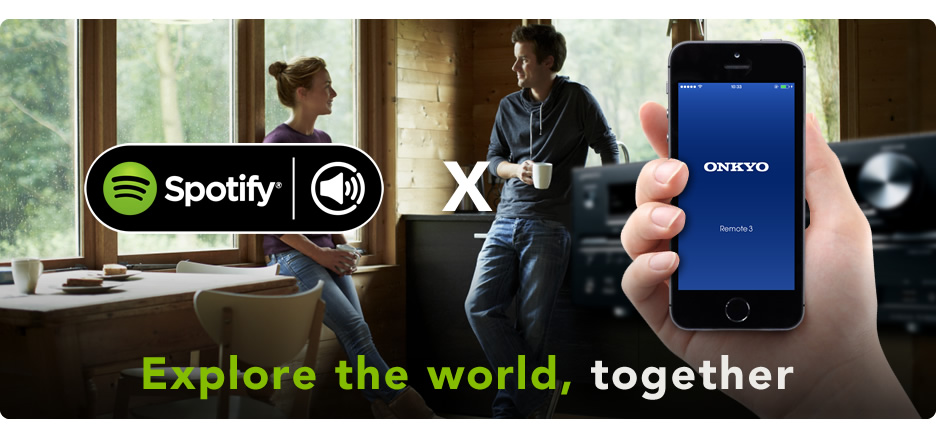 Onkyo Releases Spotify Connect Firmware, New Remote App for
