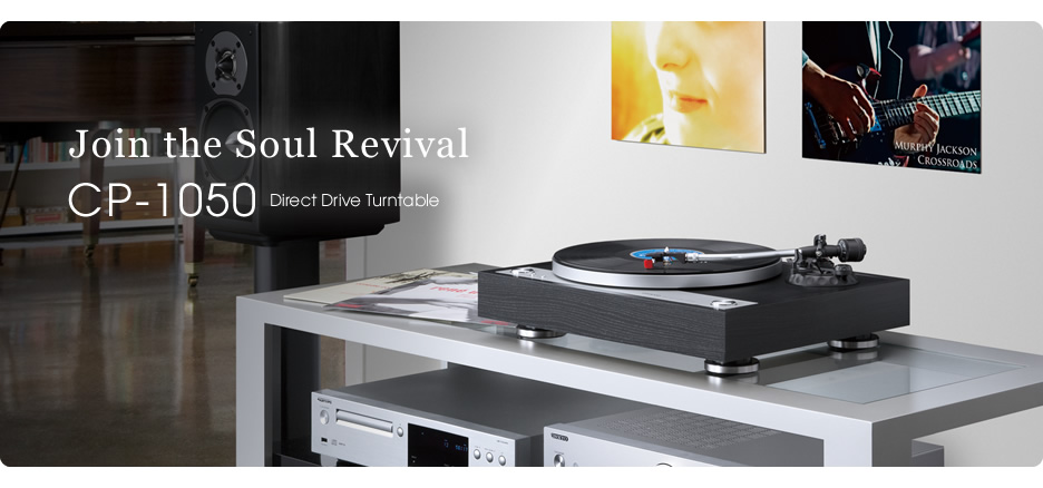 onkyo turntable. onkyo continues 70-year tradition of hi-fi analog sound with new cp-1050 turntable