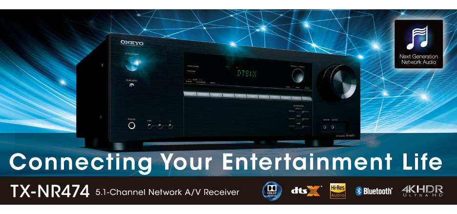 Featuring High Current Audio Amplification, Entry-Level AVRs ...