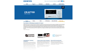 onkyo cs n575d. contents image. cs-n575d product information page onkyo cs n575d