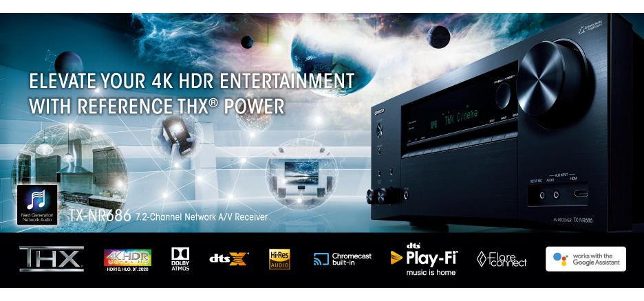 Meet the 7 2-Channel TX-NR686 from Onkyo, a New Benchmark in Value