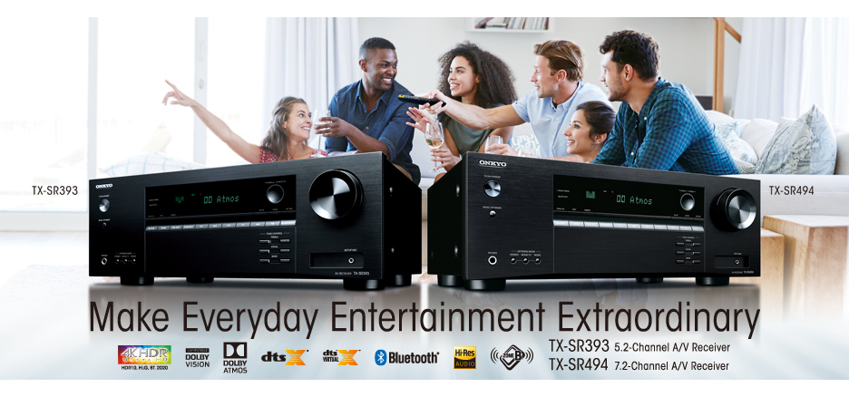 Onkyo Launches Value-Packed AVRs with Dolby Atmos® and DTS:X® for 3D
